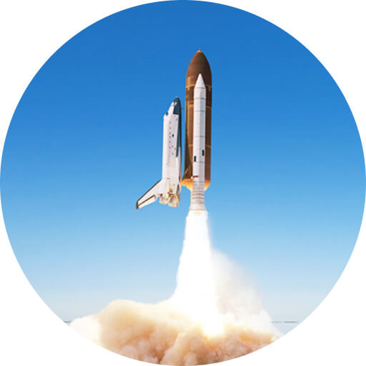 What is a Launch Pad solution? Logo